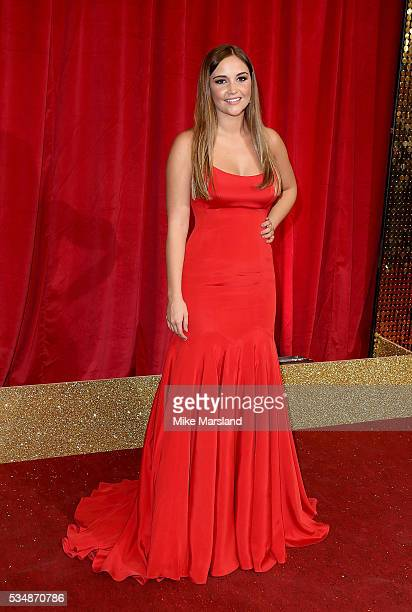 Jacqueline Jossa attends the British Soap Awards 2016 at Hackney Empire on May 28 2016 in London England