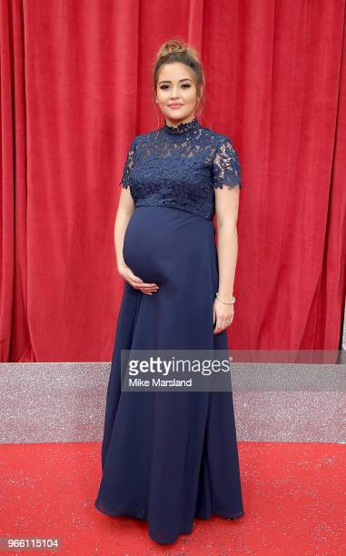 Jacqueline Jossa attends the British Soap Awards 2018 at Hackney Empire on June 2 2018 in London England