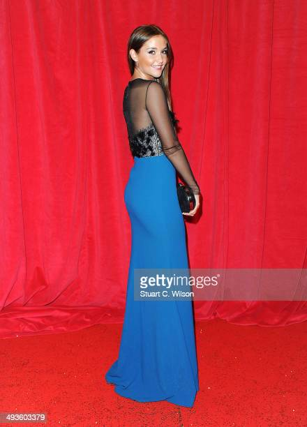 Jacqueline Jossa attends the British Soap Awards at Hackney Empire on May 24 2014 in London England