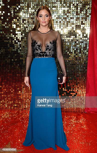 Jacqueline Jossa attends the British Soap Awards held at the Hackney Empire on May 24 2014 in London England