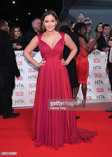 Jacqueline Jossa attends the National Television Awards at The O2 Arena on January 25 2017 in London England