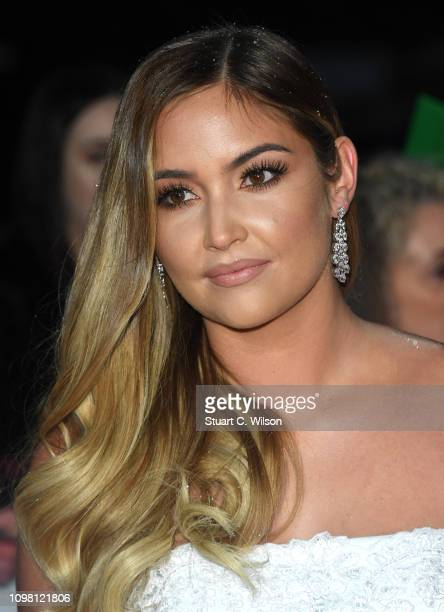 Jacqueline Jossa attends the National Television Awards held at the O2 Arena on January 22 2019 in London England