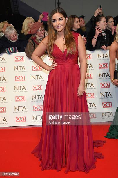 Jacqueline Jossa attends the National Television Awards on January 25 2017 in London United Kingdom