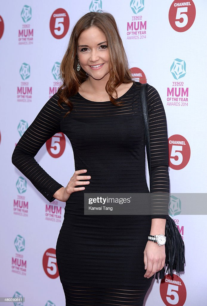 Jacqueline Jossa attends the Tesco Mum of the Year awards at The Savoy Hotel on March 23, 2014 in London, England.