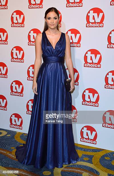 Jacqueline Jossa attends the TV Choice Awards 2014 at London Hilton on September 8 2014 in London England