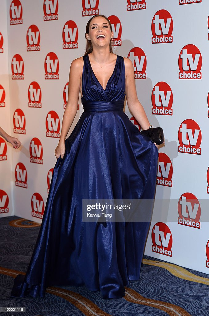 Jacqueline Jossa attends the TV Choice Awards 2014 at London Hilton on September 8, 2014 in London, England.