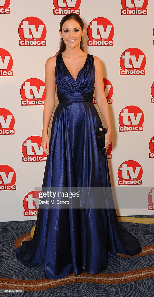 Jacqueline Jossa attends the TV Choice Awards 2014 at the London Hilton on September 8, 2014 in London, England.