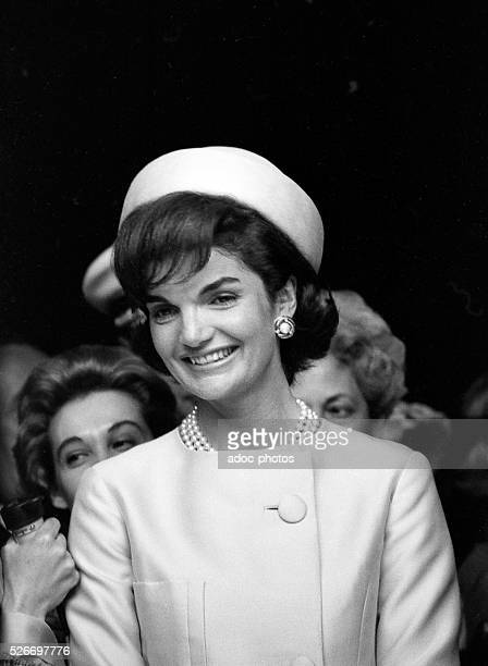 Jacqueline Kennedy during his visit in Paris On May 31 1961