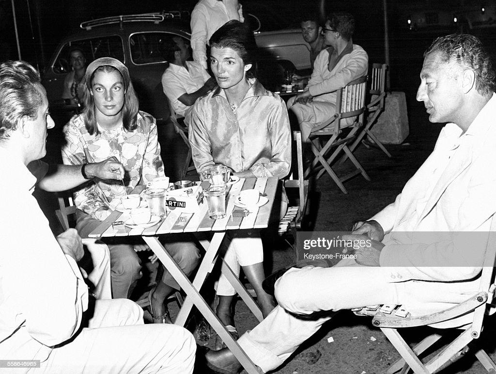 Vacances italiennes pour Jacqueline Kennedy : Fotografía de noticias