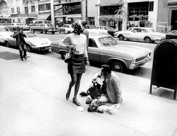 Jacqueline Kennedy Onassis and Daily News photographer Mel F
