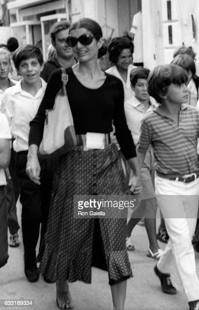 eaf4b879ad0d Jacqueline Kennedy Onassis sighted on August 24 1970 in Capri Italy