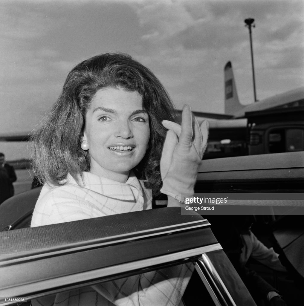 Jackie Kennedy At LAP : News Photo