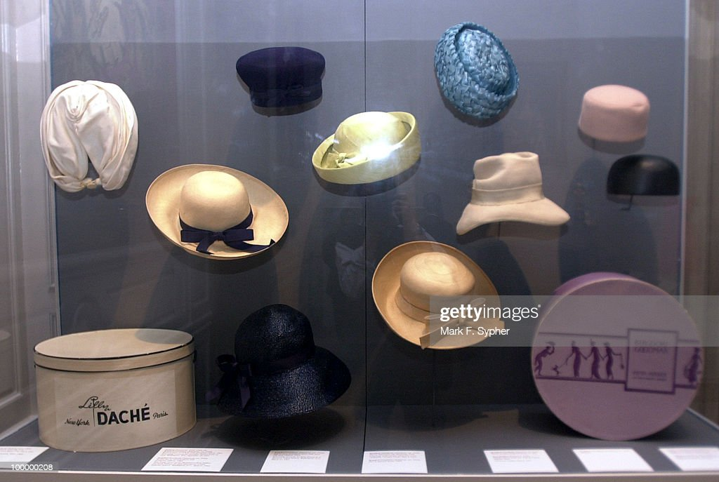Jacqueline Kennedy's personal articles, such as jewelry and therse hats, are on display at the Corcoran Gallery of Art's 'Jacqueline Kennedy: The White House Years' exhibit.
