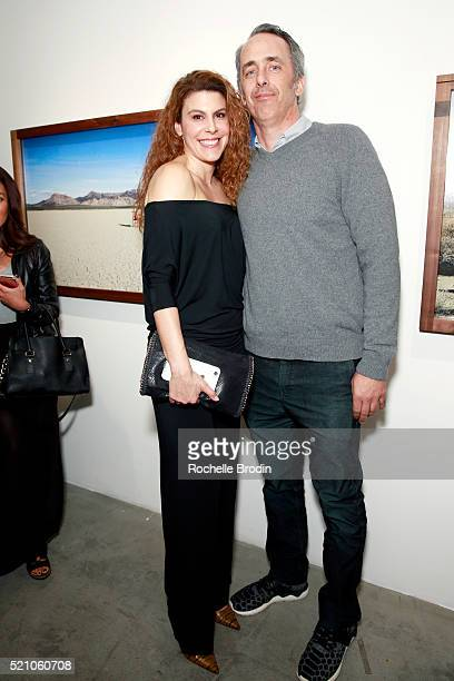 Jacqueline Kravette and Glen Cary attend the Photo Femmes Exhibition Opening at De Re Gallery featuring the work of Ashley Noelle Bojana Novakovic...