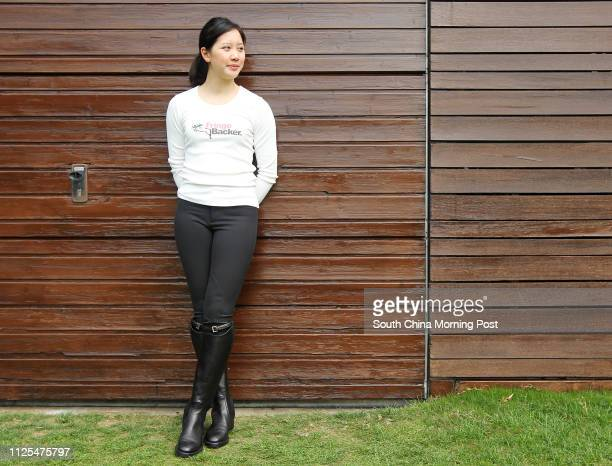 Jacqueline Lai Jingman member of Hong Kong International Equestrian team who is raising funds to support her trip to compete in the China National...