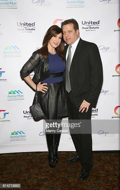 Jacqueline Laurita and her husband Chris Laurita attend 'A Night of Hope ' Presented by United Real Estate ABC Generation Rescue at The Brownstone on...