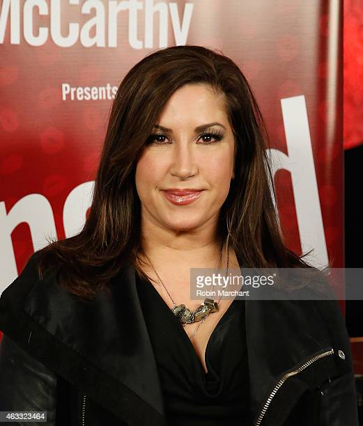 Jacqueline Laurita attend 'Singled OutAgain' On Her Exclusive SiriusXM Show 'Dirty Sexy Funny With Jenny McCarthy' on February 12 2015 in New York...