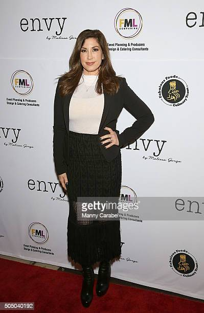 Jacqueline Laurita attends the Grand Opening of envy by Melissa Gorga Boutique on January 14 2016 in Montclair New Jersey