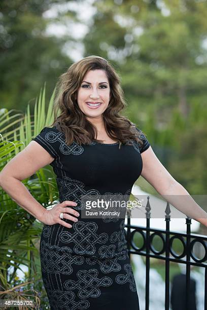RHONJ Jacqueline Laurita attends the wedding of plastic surgeon and television personality Dr Ramtin Kassir MD to Dr Sheila Malek at The Park Savoy...