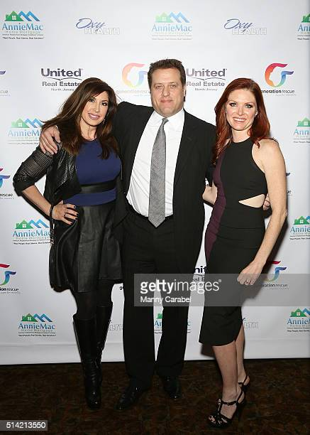 Jacqueline Laurita Chris Laurita and Candace McDonald attend 'A Night of Hope ' Presented by United Real Estate ABC Generation Rescue at The...