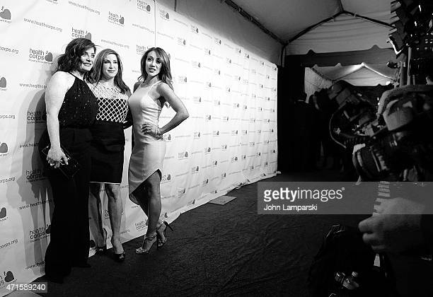 Jacqueline Laurita Melissa Gorga and Kathy Wakile attend 9th Annual HealthCorps' Gala at Cipriani Wall Street on April 29 2015 in New York City