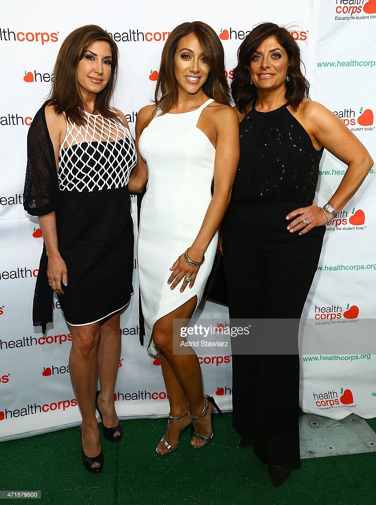 Jacqueline Laurita, Melissa Gorga and Kathy Wakile attend HealthCorp's 9th Annual Gala at Cipriani Wall Street on April 29, 2015 in New York City.
