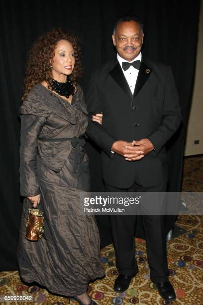 Jacqueline Lavinia Brown and Jesse Jackson attend ALVIN AILEY Opening Night Gala Benefit at New York City Center / Hilton on December 2 2009 in New...