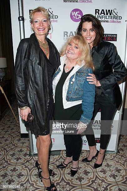 Jacqueline Lundquist Sally Struthers and Julie Anderson arrive at the lauch party for The Feminine Collective Raw and Unfiltered Vol 1 at Palihouse...