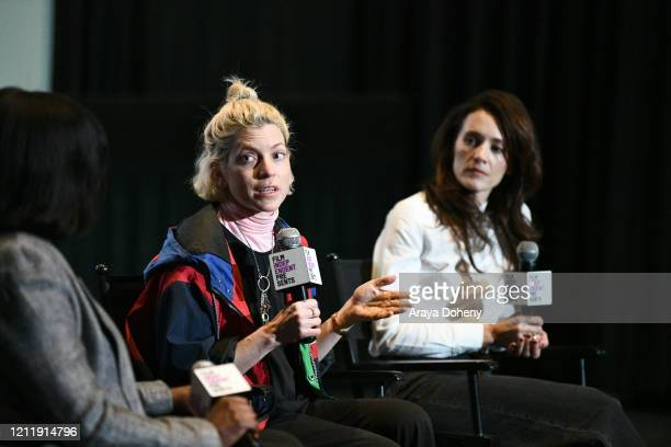 Jacqueline Lyanga Bridget Savage Cole and Danielle Krudy at Film Independent screening series presents Blow The Man Down at ArcLight Hollywood on...