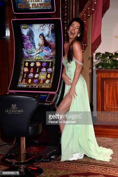 Jacqueline Mac Innes Wood attends the After Party Opening Ceremony of the 57th Monte Carlo TV Festival at the MonteCarlo Casino on June 16 2017 in...