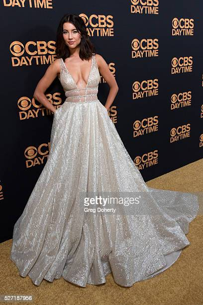 Jacqueline Macinnes Wood arrives at the CBS Daytime Emmy After Party at the Alexandria Ballrooms on May 1, 2016 in Los Angeles, California.