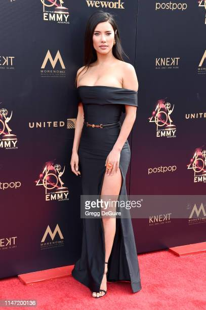 Jacqueline MacInnes Wood attends the 46th annual Daytime Emmy Awards at Pasadena Civic Center on May 05 2019 in Pasadena California