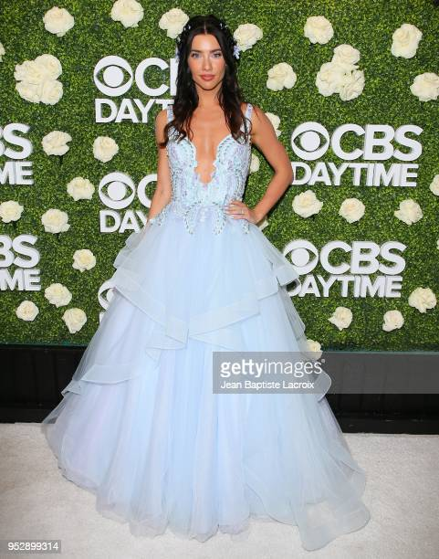 Jacqueline MacInnes Wood attends the CBS Daytime Emmy After Party on April 29 2018 in Pasadena California