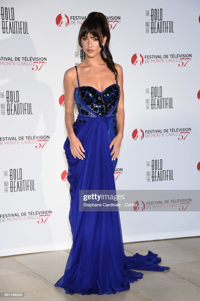 Jacqueline MacInnes Wood attends the 'The Bold and The Beautiful' 30th Anniversary during the 57th Monte Carlo TV Festival : Day 3 on June 18, 2017 in Monte-Carlo, Monaco.
