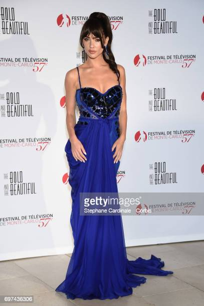 Jacqueline MacInnes Wood attends the 'The Bold and The Beautiful' 30th Anniversary during the 57th Monte Carlo TV Festival Day 3 on June 18 2017 in...