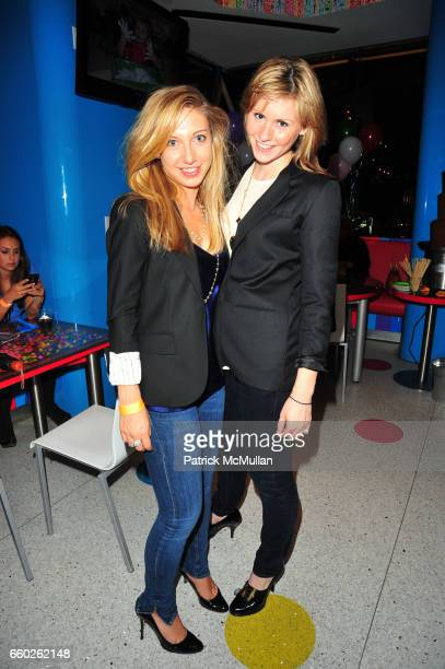 Jacqueline Marino and Cayley Dickenson attend ASSOCIATION to BENEFIT CHILDREN hosts COCKTAILS IN CANDYLAND at Dylan's Candy Bar on June 18 2009 in...