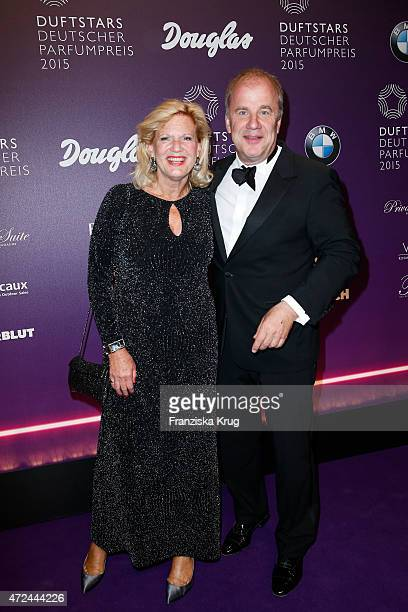 Jacqueline Meyer-Burckhardt and Hubertus Meyer-Burckhardt attend the Douglas At Duftstars 2015 on May 07, 2015 in Berlin, Germany.