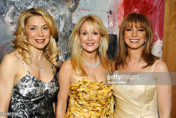 Jacqueline Murphy Debra Wasser and Jill Zarin during Auction Benefit for Edwin Gould Children Services at Cipriani in New York City New York United...