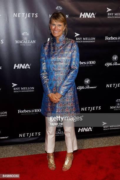 Jacqueline Novogratz attends the Forbes Media Centennial Celebration at Pier 60 on September 19, 2017 in New York City.