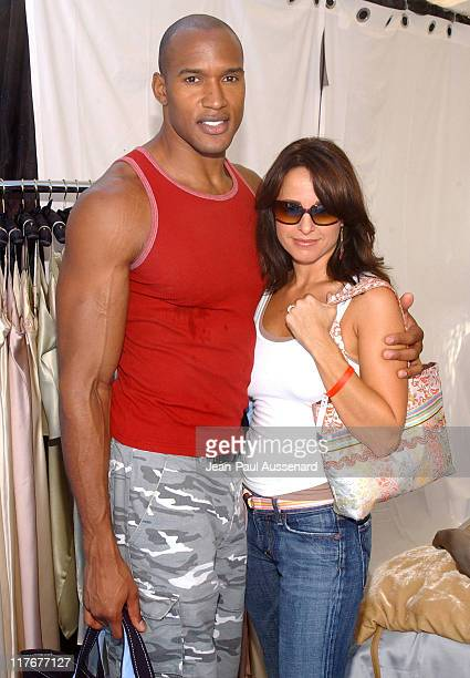 Jacqueline Obradors and Henry Simmons at Kookoon during Silver Spoon Hollywood Buffet Day One at Private Estate in Los Angeles California United...