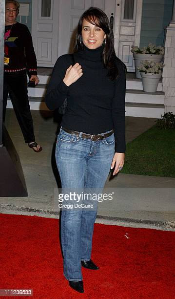 Jacqueline Obradors during 2005 ABC Winter Press Tour Party Arrivals at Universal Studios in Universal City California United States