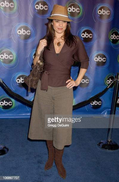 Jacqueline Obradors during 2006 ABC Network AllStar Party Arrivals and Inside at The Wind Tunnel in Pasadena California United States