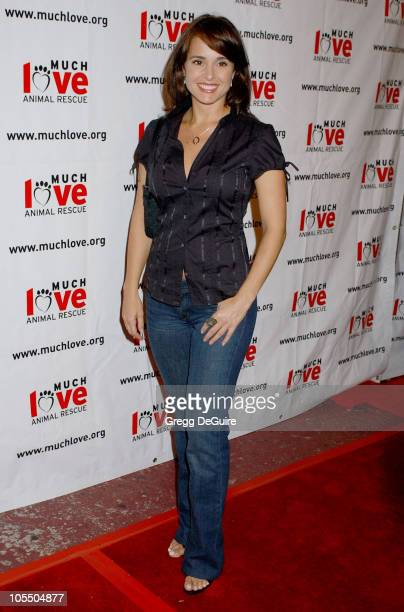 Jacqueline Obradors during 4th Annual Much Love Animal Rescue Celebrity Comedy Benefit Arrivals at The Laugh Factory in Hollywood California United...