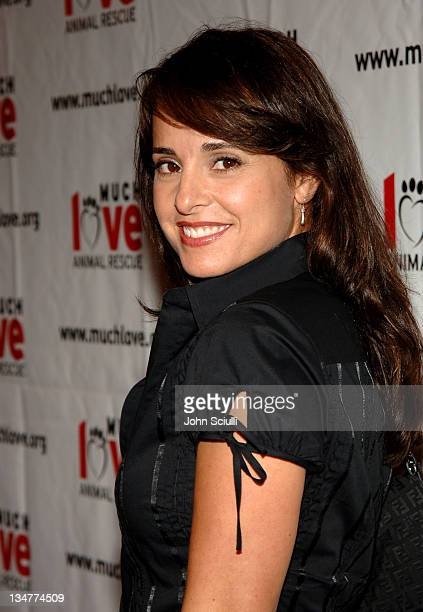 Jacqueline Obradors during 4th Annual Much Love Animal Rescue Celebrity Comedy Benefit Red Carpet at The Laugh Factory in Los Angeles California...