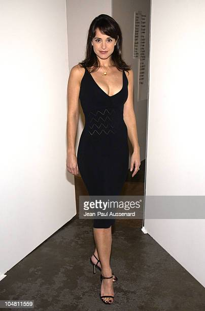 Jacqueline Obradors during Eduardo Lucero Spring 2003 Collection at Smashbox Studios in Culver City California United States