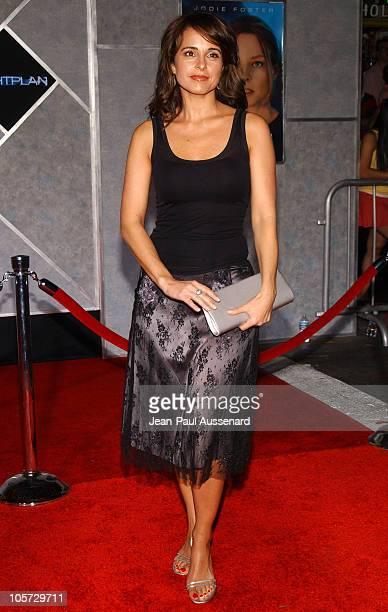 Jacqueline Obradors during Flightplan Los Angeles Premiere Arrivals at El Capitan in Hollywood California United States