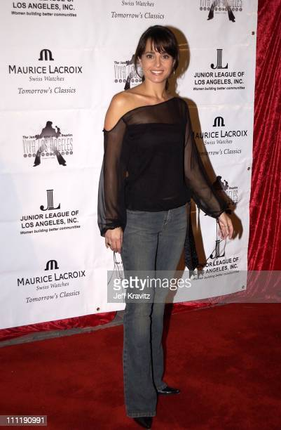 Jacqueline Obradors during Junior League of LA Viva Los Angeles Casino Night at Jim Henson Studios in Hollywood CA United States