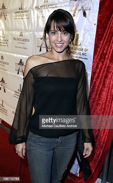 Jacqueline Obradors during Maurice Lacroix Presents The Junior League of Los Angeles Viva Los Angeles Casino Night Arrivals at Jim Henson Studios in...