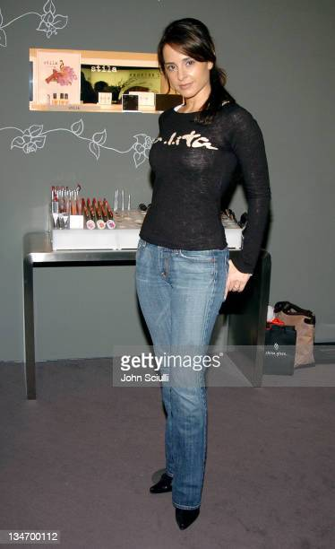 Jacqueline Obradors during Red Carpet '05 Oscar Suite Day Six in Los Angeles California United States