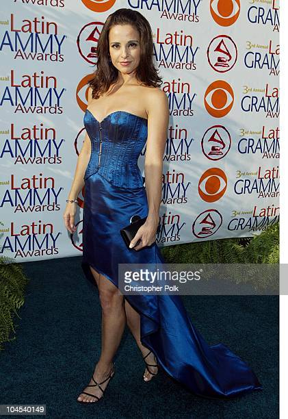 Jacqueline Obradors during The 3rd Annual Latin GRAMMY Awards Arrivals at Kodak Theater in Hollywood California United States